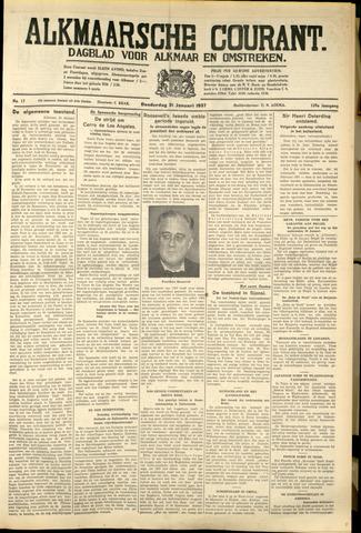Alkmaarsche Courant 1937-01-21