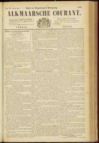 Alkmaarsche Courant 1896-06-26
