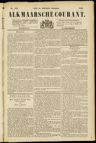 Alkmaarsche Courant 1886-12-10