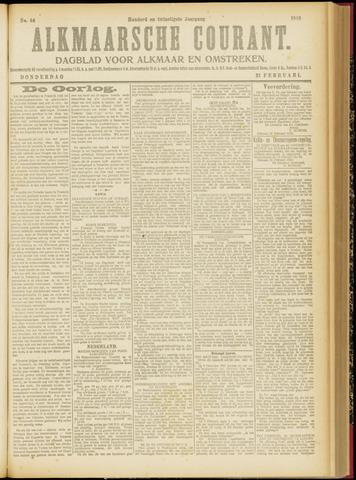 Alkmaarsche Courant 1918-02-21