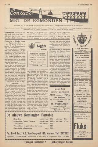 Contact met de Egmonden 1961-08-24