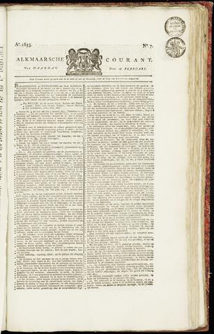 Alkmaarsche Courant 1833-02-18