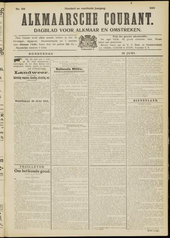 Alkmaarsche Courant 1912-06-20