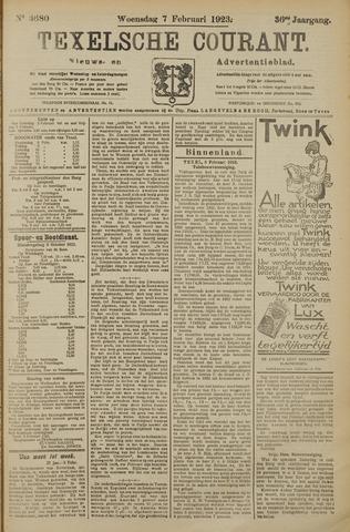 Texelsche Courant 1923-02-07