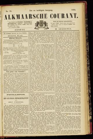 Alkmaarsche Courant 1884-08-10