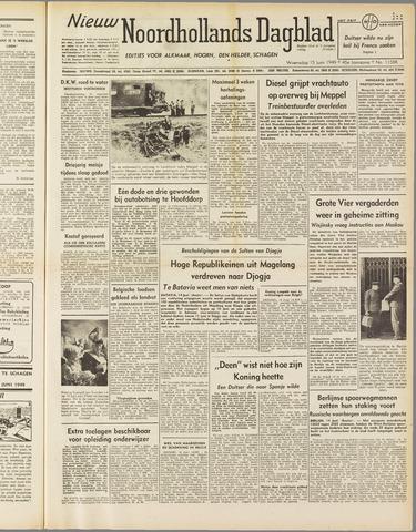 Nieuw Noordhollandsch Dagblad : voor Alkmaar en omgeving 1949-06-15