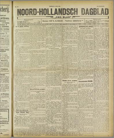 Ons Blad : katholiek nieuwsblad voor N-H 1921-07-19
