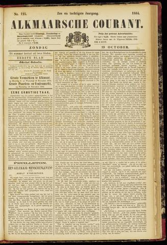 Alkmaarsche Courant 1884-10-19