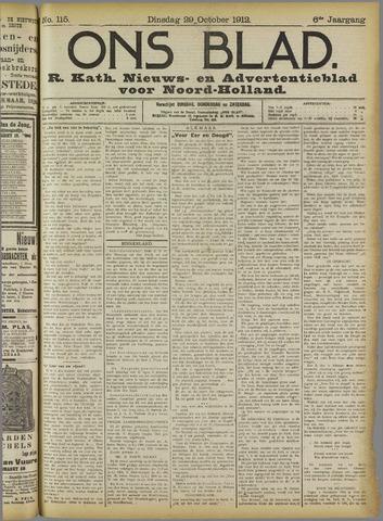 Ons Blad : katholiek nieuwsblad voor N-H 1912-10-29