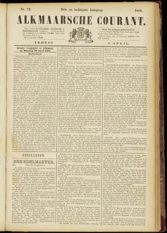 Alkmaarsche Courant 1881-04-08