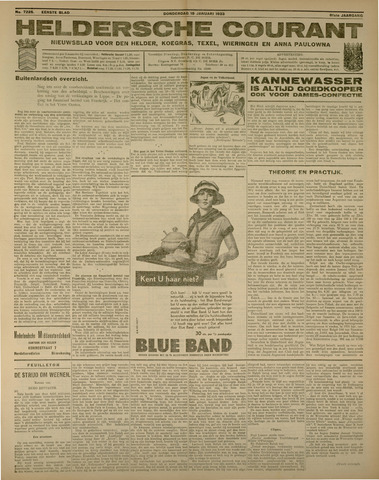 Heldersche Courant 1933-01-19