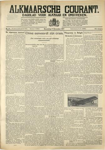 Alkmaarsche Courant 1937-11-17