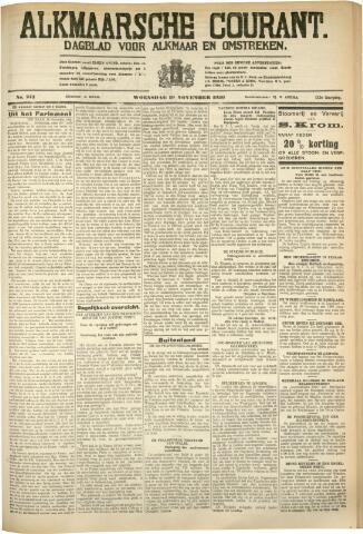 Alkmaarsche Courant 1930-11-19