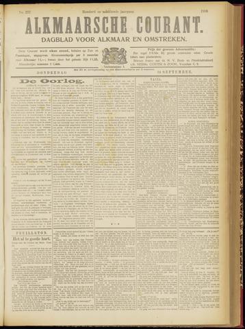 Alkmaarsche Courant 1916-09-14