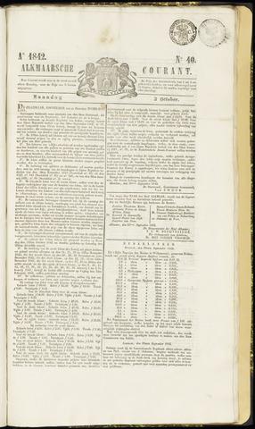 Alkmaarsche Courant 1842-10-03