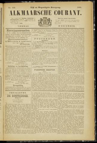 Alkmaarsche Courant 1893-12-22