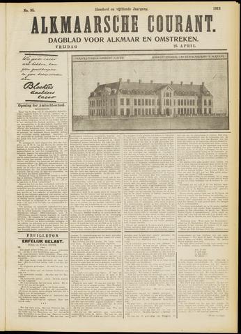 Alkmaarsche Courant 1913-04-25