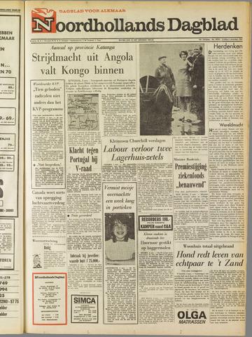 Noordhollands Dagblad : dagblad voor Alkmaar en omgeving 1967-11-03