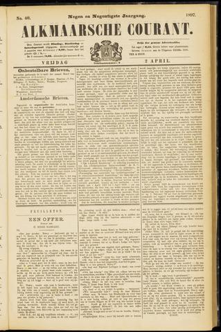Alkmaarsche Courant 1897-04-02