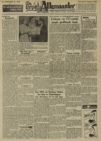 De Vrije Alkmaarder 1949-08-27