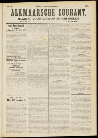 Alkmaarsche Courant 1912-10-14