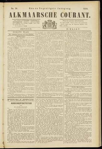 Alkmaarsche Courant 1889-03-24