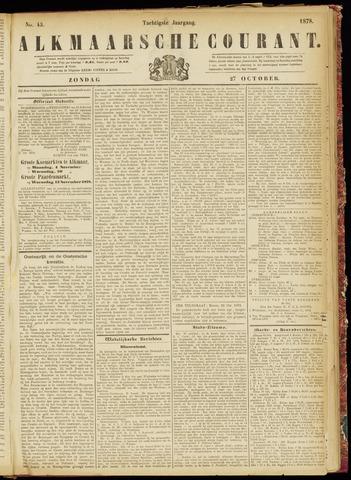 Alkmaarsche Courant 1878-10-27