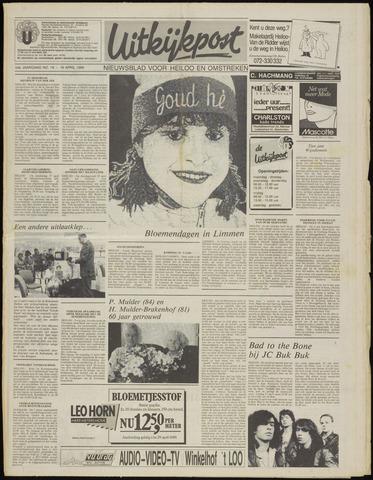 Uitkijkpost : nieuwsblad voor Heiloo e.o. 1989-04-19