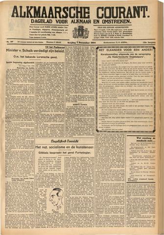 Alkmaarsche Courant 1934-12-07