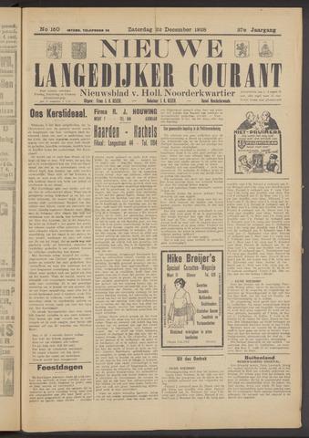 Nieuwe Langedijker Courant 1928-12-22