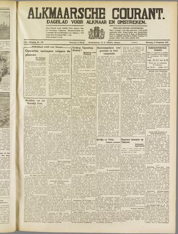 Alkmaarsche Courant 1941-08-12