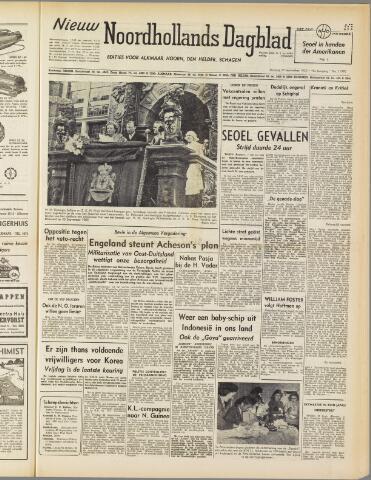 Nieuw Noordhollandsch Dagblad : voor Alkmaar en omgeving 1950-09-26