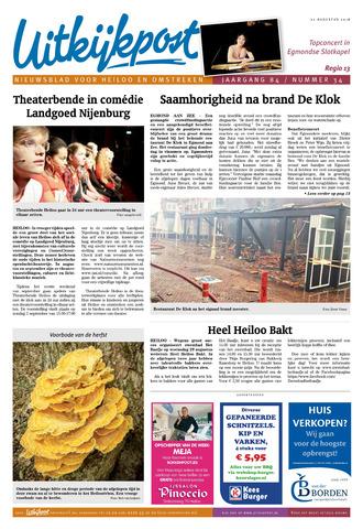 Uitkijkpost : nieuwsblad voor Heiloo e.o. 2018-08-22