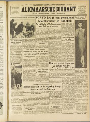 Alkmaarsche Courant 1955-02-25