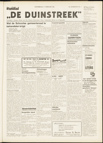 De Duinstreek 1966-02-17
