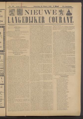 Nieuwe Langedijker Courant 1922-03-25