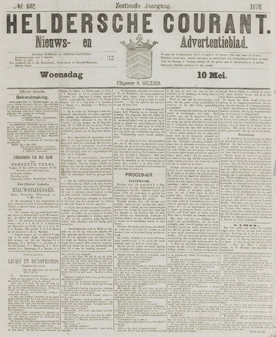 Heldersche Courant 1876-05-10