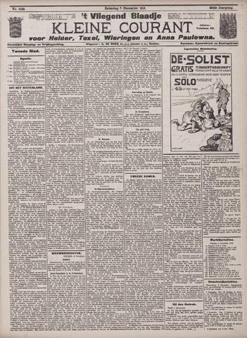 Vliegend blaadje : nieuws- en advertentiebode voor Den Helder 1912-12-07