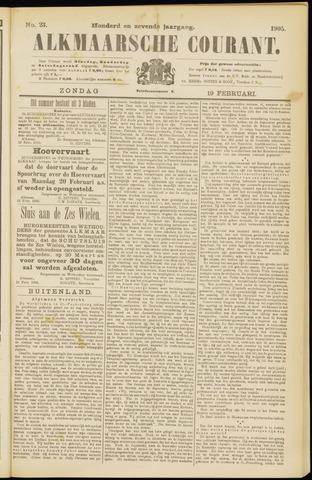 Alkmaarsche Courant 1905-02-19
