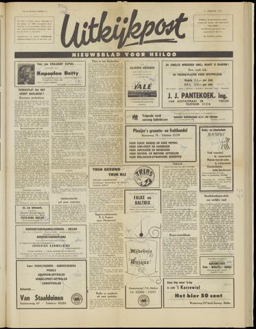 Uitkijkpost : nieuwsblad voor Heiloo e.o. 1971-08-11