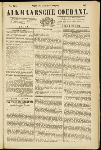 Alkmaarsche Courant 1887-09-09