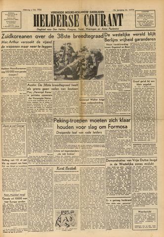 Heldersche Courant 1950-10-02