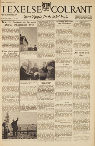 Texelsche Courant 1963-12-10