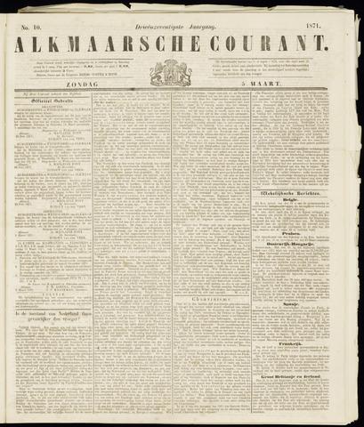 Alkmaarsche Courant 1871-03-05