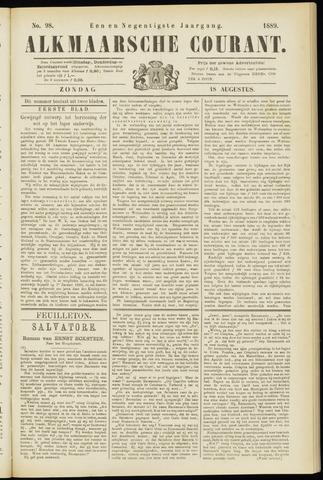 Alkmaarsche Courant 1889-08-18