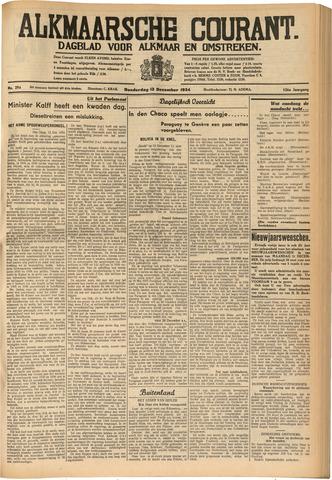 Alkmaarsche Courant 1934-12-13