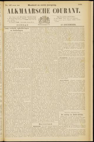 Alkmaarsche Courant 1899-12-10