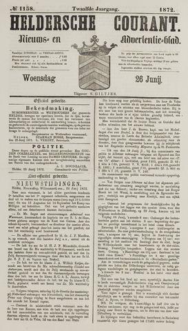 Heldersche Courant 1872-06-26