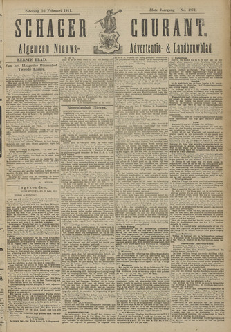 Schager Courant 1911-02-25