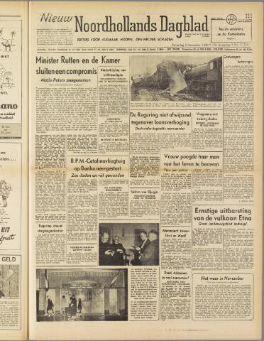 Nieuw Noordhollandsch Dagblad : voor Alkmaar en omgeving 1949-12-03